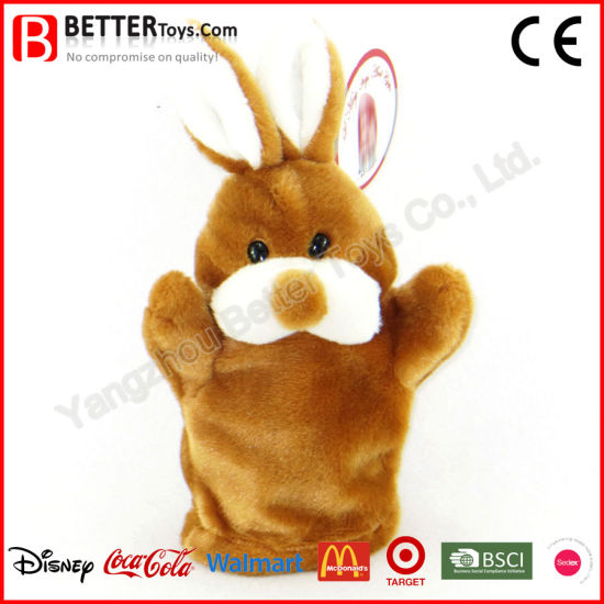 Soft Bunny Plush Animal Stuffed Rabbit Hand Puppet pictures & photos
