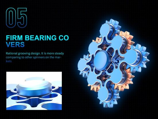 9 Gear Linkage Fidget Spinner Toy Hand Spinner pictures & photos