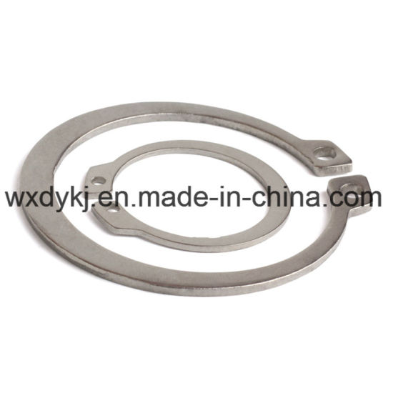 Stainless Steel External Circlip for Shaft pictures & photos