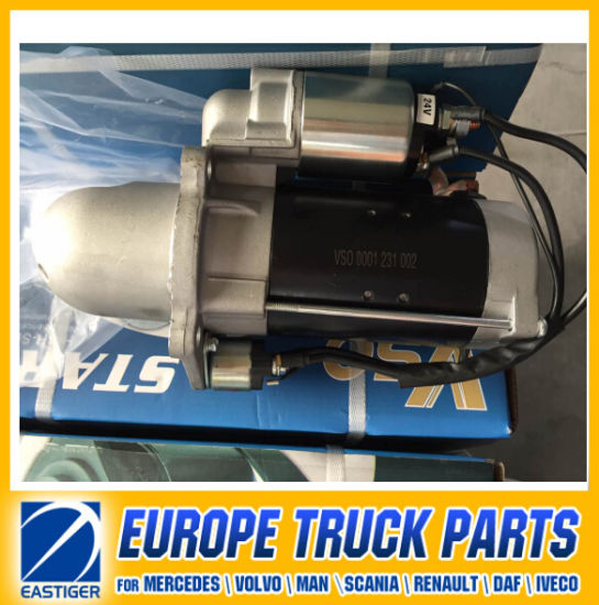 0001231002 Starter Motor for Mercedes Benz Auto Spare Part pictures & photos