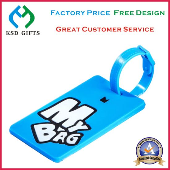 New Design Luggage Tag Soft Rubber Luggage Tags