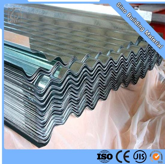 Galvanized Corrugated Roofing Steel Plate