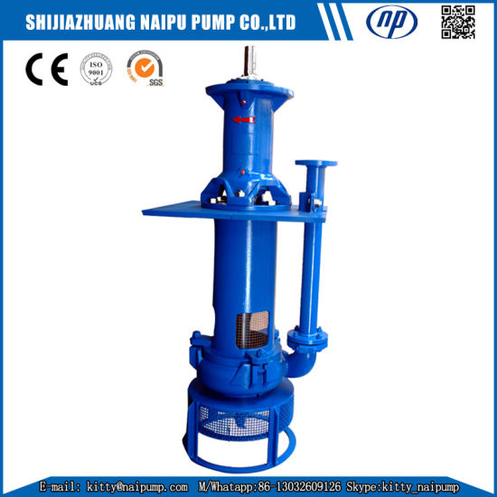 Np-Sp High Chrome Wear-Resistant Vertical Slurry Pump pictures & photos