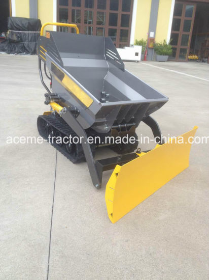 500kgs Load Capacity All Hydraulic Self-Loading Dumper Mini Transporter pictures & photos