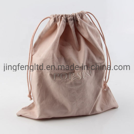 Wholesale Custom Cotton Draw String Dust Bag for Handbags pictures & photos