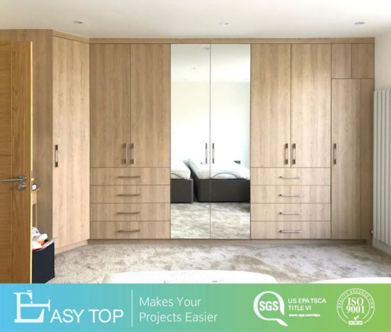 Large Wooden Storage Wardrobe Wholesale Swing Door Hinge Closet Organizers