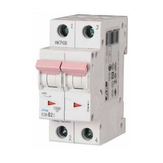 Eaton Xpole Plsm MCB Mini Circuit Breaker 2p, 2A, 10ka