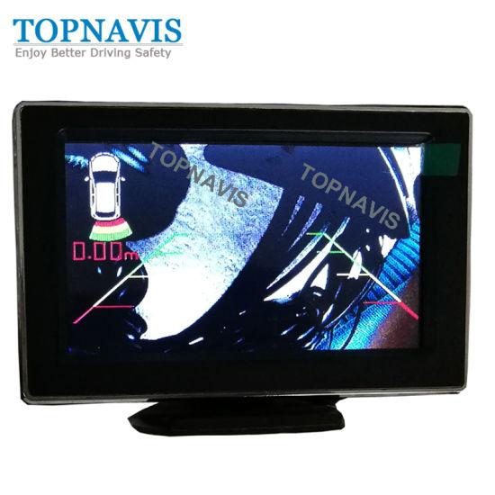 Car Backup Video Sensor with Colorful OSD Inside