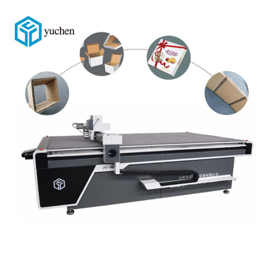 Dieless Corrugated, Honeycomb, Paper Board, Packaging Carton Box Cutting Equipment with Ce CNC Digital Pattern Cutter Machine