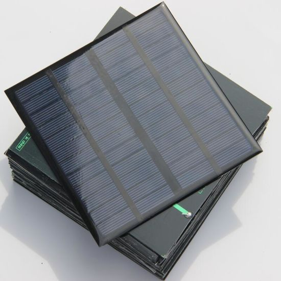 3W 12V Mini Solar Cell Panel Polycrystalline Pet Solar Cell for Test and DIY Solar System pictures & photos