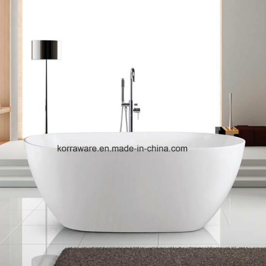 (K1523) Freestanding Acrylic Bathtubs / Massage Whirlpool Bathtubs pictures & photos