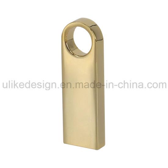 Hotsale Golden Metal USB Flash Stick/ Flash Drive (UL-M017)
