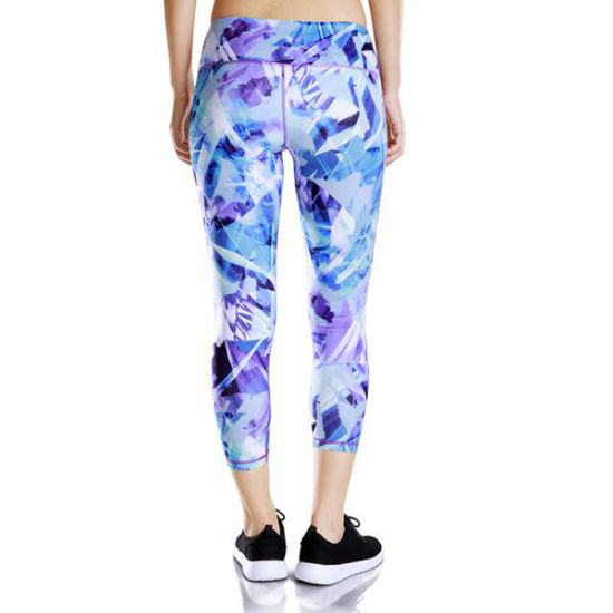Wholesale Custom Women′s High Waist Leggings Cheap Yoga Pants pictures & photos
