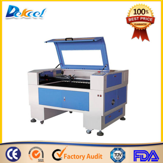 China 9060 100W CNC CO2 Laser Cutter for Acrylic, Foam, Wood for Sale pictures & photos