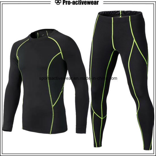 2017 Men Compression Sports Fitness Athletic Long Sleeve Shirt