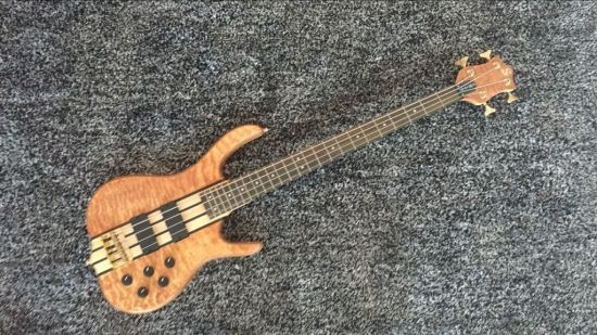 4 Strings Ken Smith Bass Replica Bolt-on Bass Top Quality Chinese Made  Electric Bass