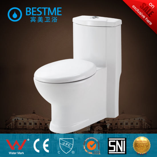 One Piece Toilet Closet Suiteable for Asia and America (BC-2016) pictures & photos