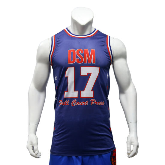 8faee5a65 Fashion Sublimated Printing Basketball Sport Jersey Wholesale Men′s Gym  Vest Custom Basketball Jerseys pictures