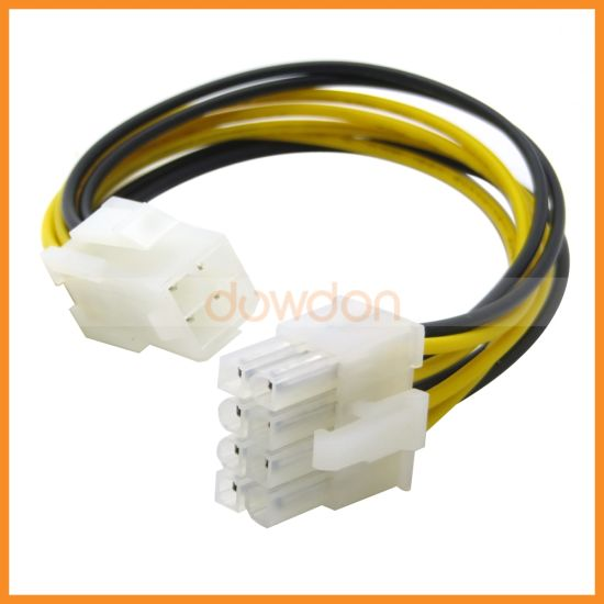 PCI-E 8 Pin Male to 4 Pin Female PCI Express Graphics Card Power Supply  Cable 18AWG