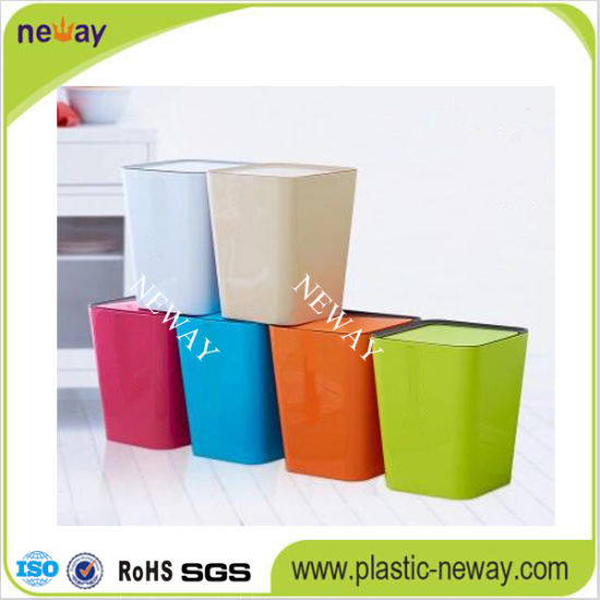 Hot Sale Household Plastic Waste Bin pictures & photos