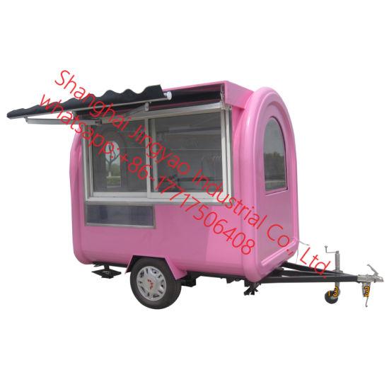 Mobile Kitchen Food Trailer Caravan Trailer Fast Food Trailer for Sale Mobile Fast Food Trailer