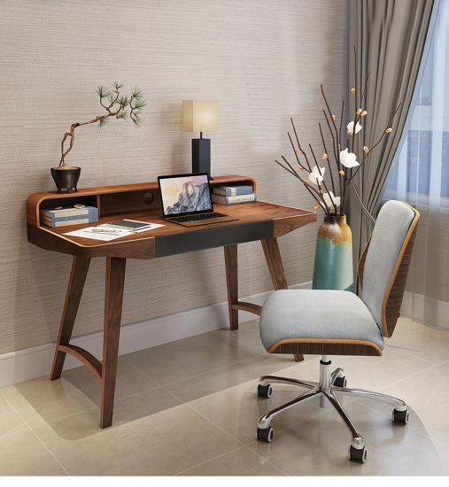 Chinese Style Wooden Computer Desk pictures & photos