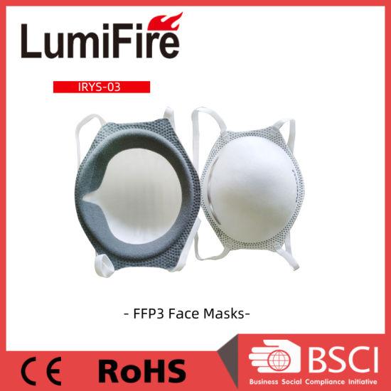 Anti Dust Anti-Bacterial Disposable Ce FFP3 Respirator