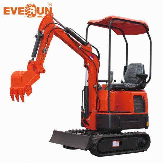 Everun Ere12 1.2ton Multifunction Hydraulic Pump Bucket Small Construction Equipment Machinery Crawler Micro Mini Excavator