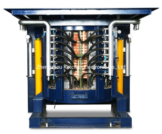0.5t-20t Steel Shell Medium Frequency Induction Melting Equipment