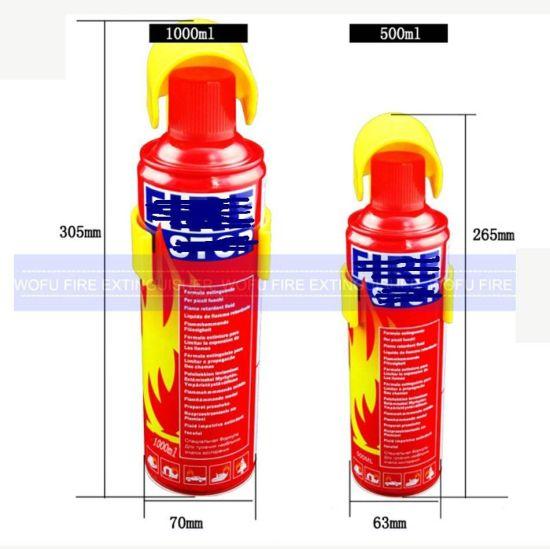 500ml Mini Car Foam Fire Stop Fire Extinguisher Spray