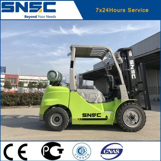 Snsc Elevator 3 Ton Gas Forklift Truck
