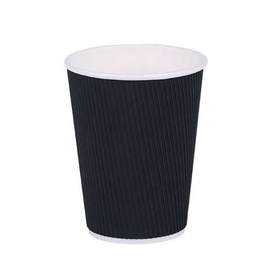 Factory Direct Disposable Customized Printed Vending Coffee Tea Beverage Paper Cup with Lids
