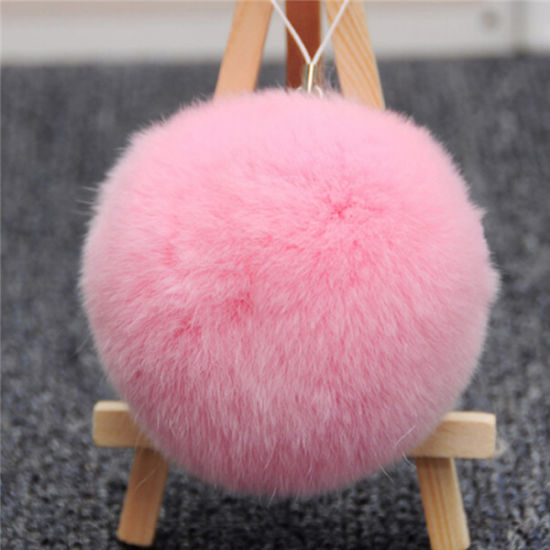 Cute Fluffy Rabbit Fur POM Poms pictures & photos