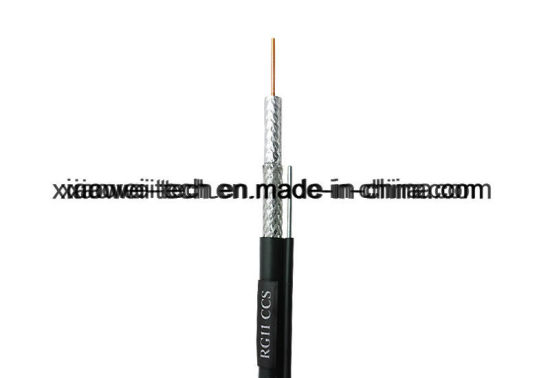 Communication Rg11 RG6 CCTV Coaxial RF Cable pictures & photos