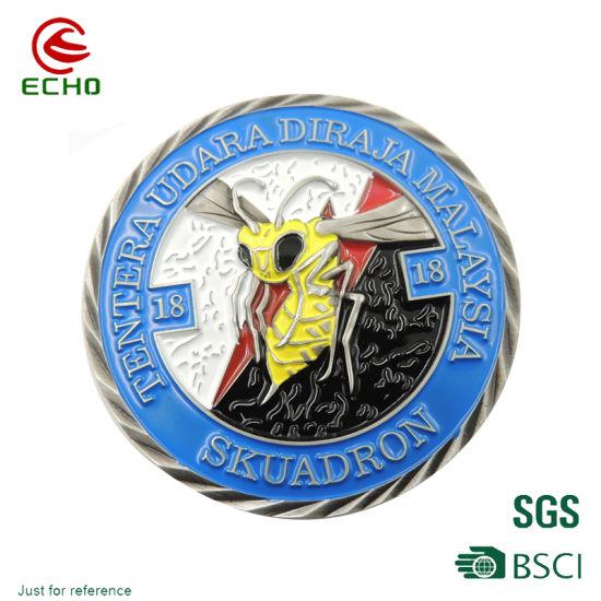 Customized Wholesale Factory Zinc Alloy Soft Enamel Metal Coins