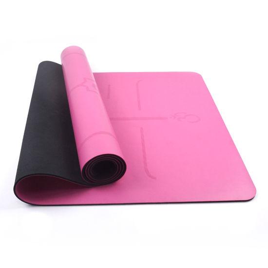 Wholesale Custom Print Color Natural Rubber Fitness Yoga Mat