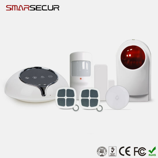 Smart Home Alarm System Self-Check Android/Ios 3G GSM Home Security