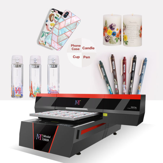 Supplier Large Format UV Flatbed Printer with LED UV Lamp for Gifts & Promotional Products