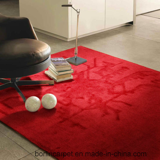 China Simple Design Match Colorful Room Red Carpet Hand Tufted China Shaggy Carpet And Shaggy Rug Price