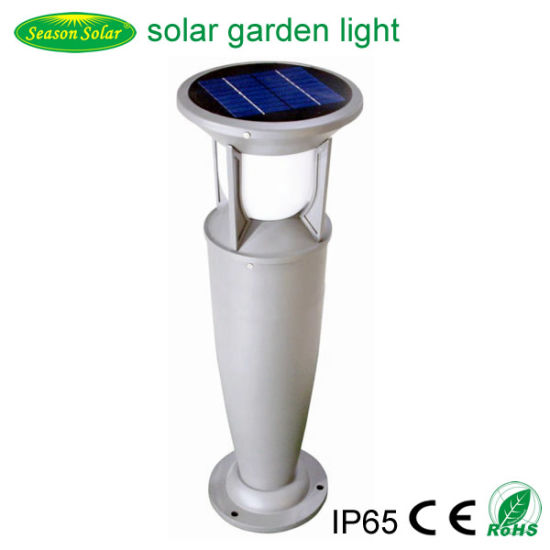 High Lumen LED Landscape Solar Powered Outdoor Garden Lights with Warm+White LED Lights