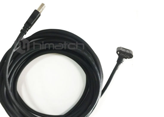 High Speed Thumbscrew USB 3.0 a/M to Micro B Cable