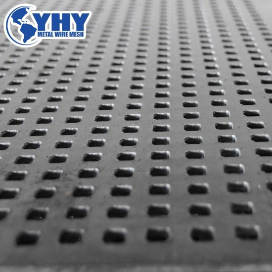 Metal Perforated Vibrating Punched Mesh Screen