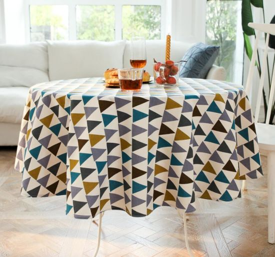Wholesale New Round Nordic Style Table Cloth