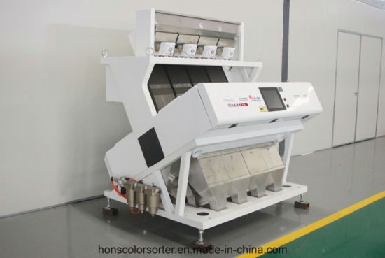 Hons+ 4 Channels Grain Color Sorter Coffee Color Sorter Agricultural Machinery Cashew Processing Machine Plastic Color Sorter pictures & photos