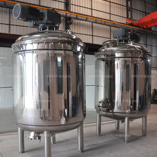 Stainless Steel Mixing Pressure Vessel Shampoo Lotion Making Machine pictures & photos