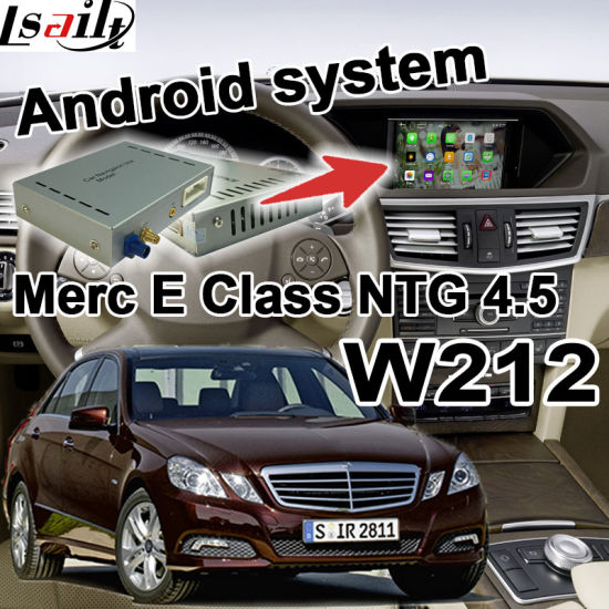 China Android GPS Navigation System for Mercedes Benz C Cla