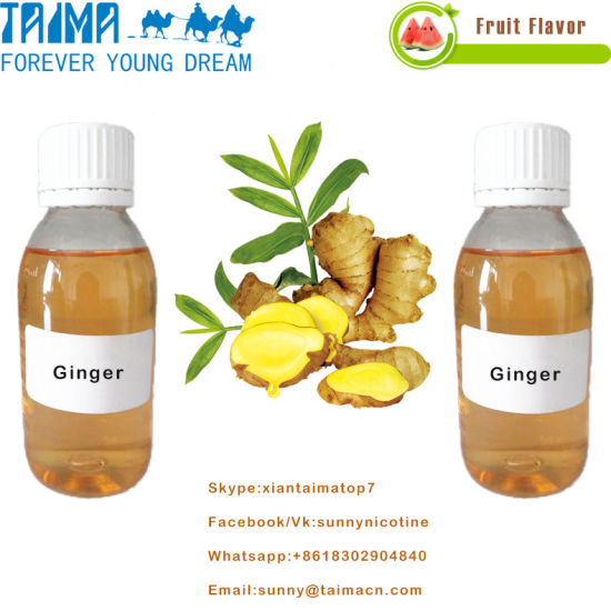 Fruit/Tobacco/Mint Aroma Concentrate Ginger Flavor for E-Liquid pictures & photos