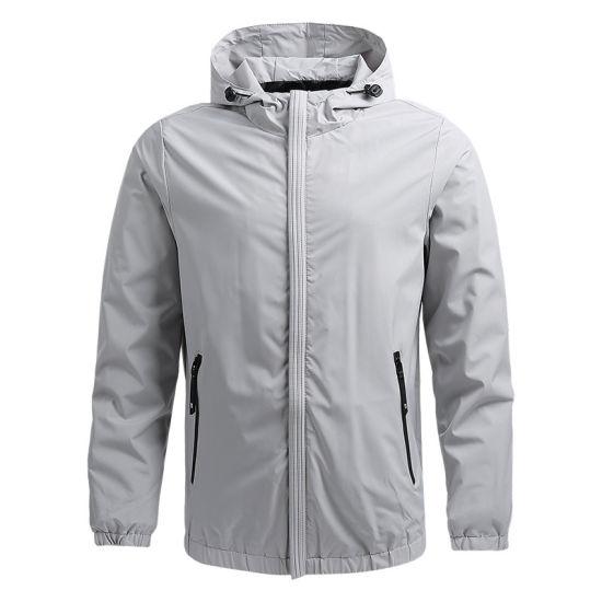Wholesale High Quality Men's Autumn Winter Cotton Fabric Fashion Warm Windproof Jackets