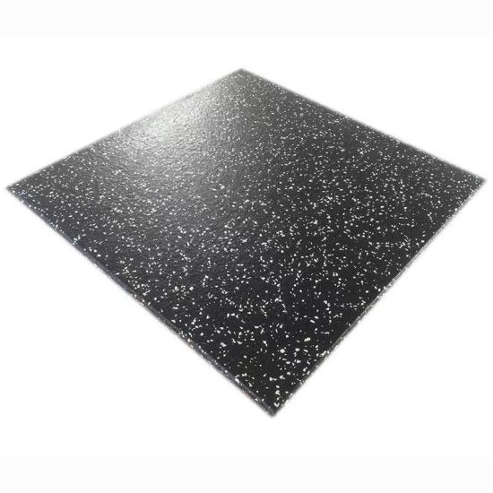 Shock Absorbing Noise Reduction Rubber Mat Crossfit Gym Flooring