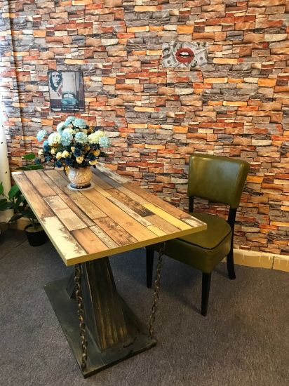Wholesale High Quality Iron Chain Design Metal Coffee Dining Table